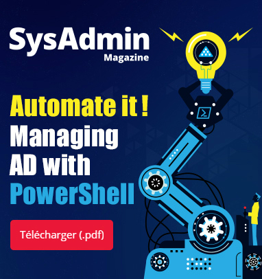 SysAdmin Magazine: Automate it! Managing AD with PowerShell